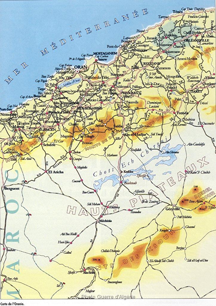 Saida Ville Carte